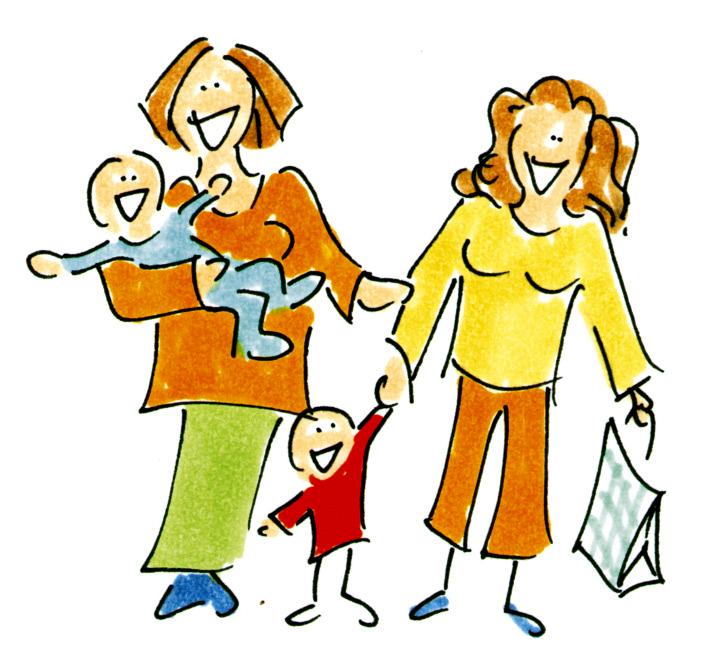 Vorsorgeuntersuchungen, Wochenbettbetreuung, Geburtsvorbereitung, Rückbildung, Babymassage